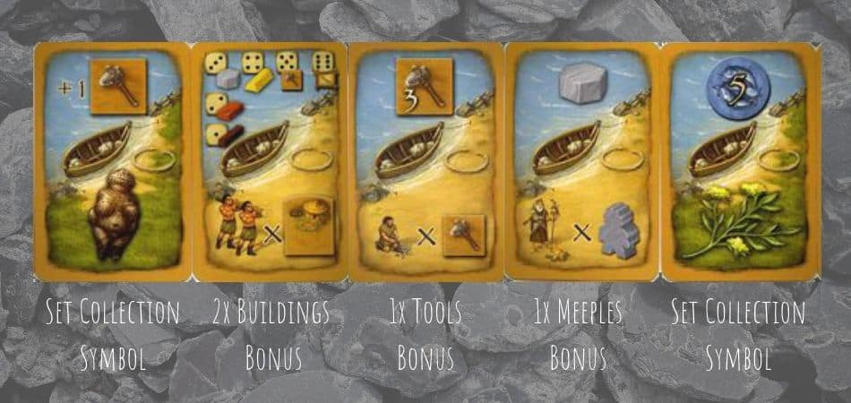 Stone Age Board Game Cards