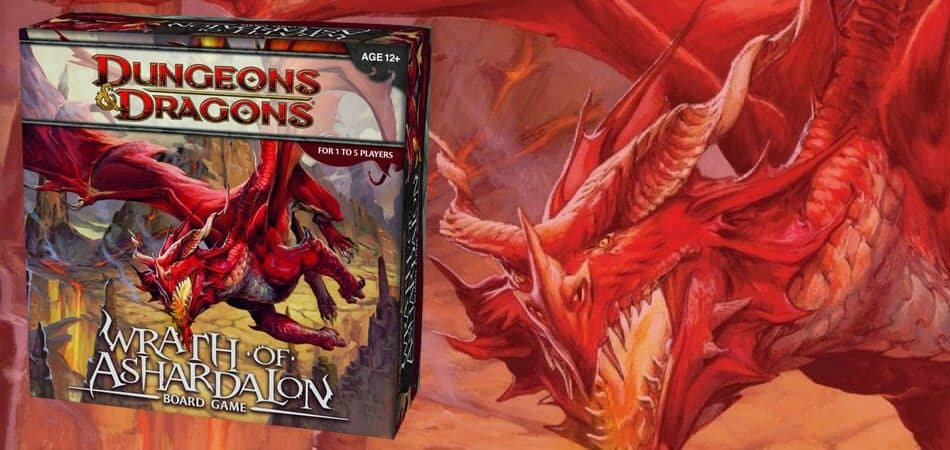 Dungeons & Dragons: Wrath f Ashardalon Board Game