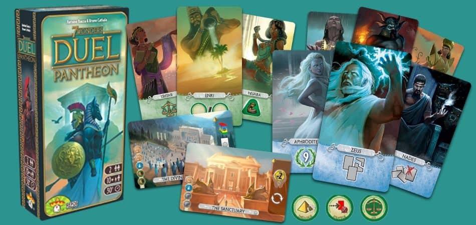 7 Wonders Duel Pantheon Expansion