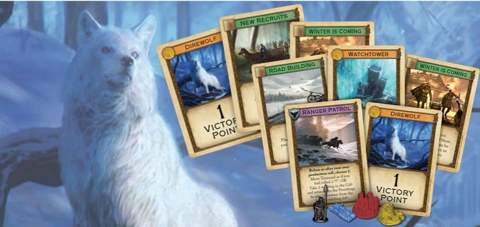 A Game of Thrones Catan: Brotherhood of the Watch Cards