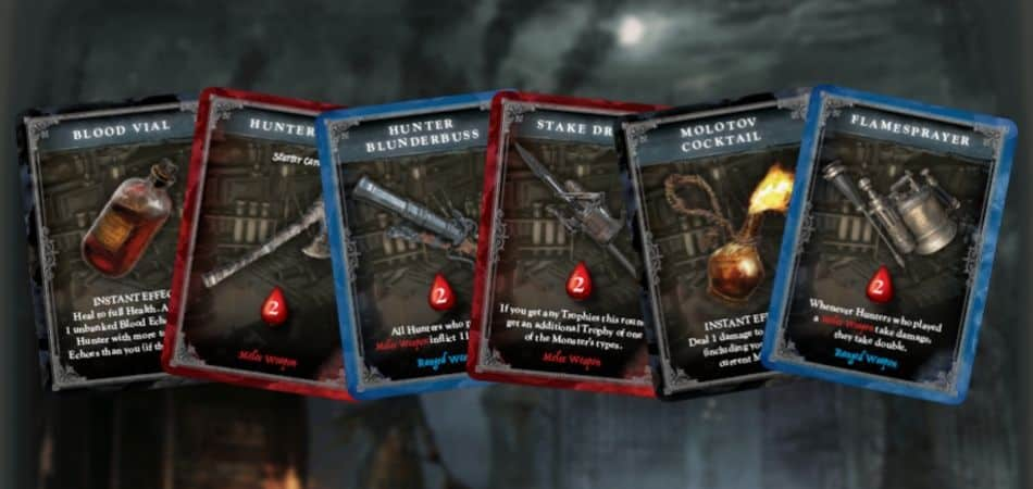 Bloodborne: The Card Game Action Cards