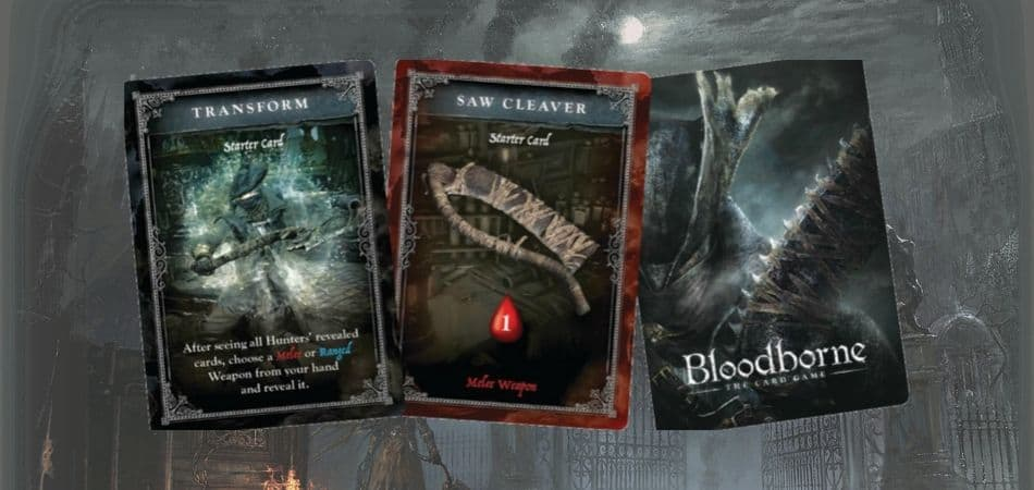 Bloodborne: The Card Game - Weapons