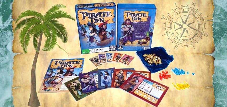 Pirate Den Board Game box