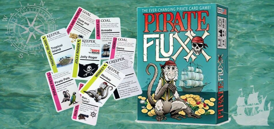 Pirate Fluxx Board Game