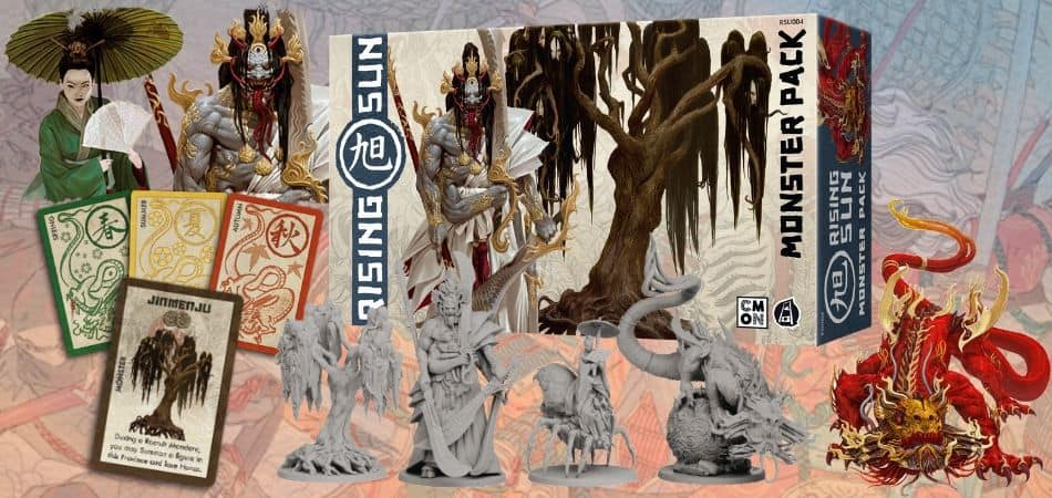 Rising Sun: Monster Pack Expansion