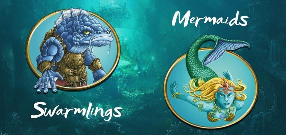 Terra Mystica Lake Factions