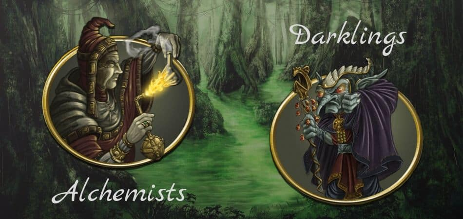 Terra Mystica Swamp Factions