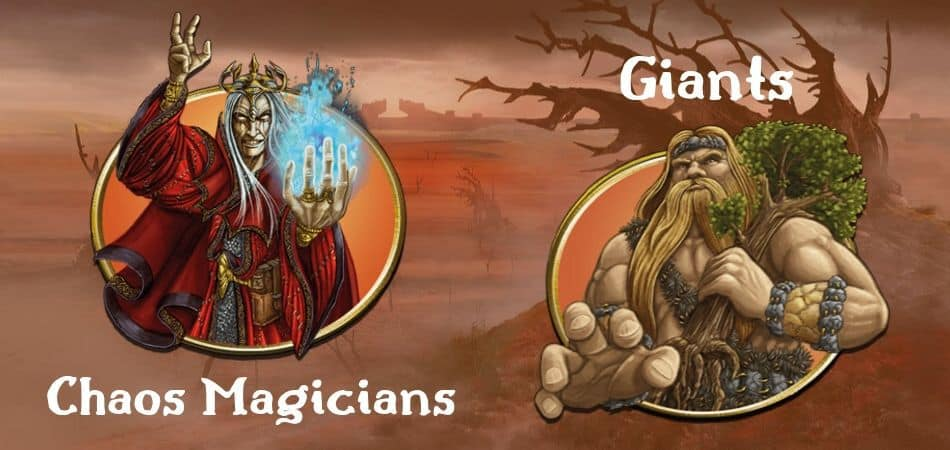 Terra Mystica Wastelands Factions