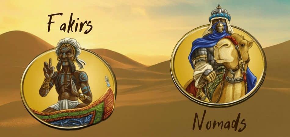 Terra Mystica Desert Factions