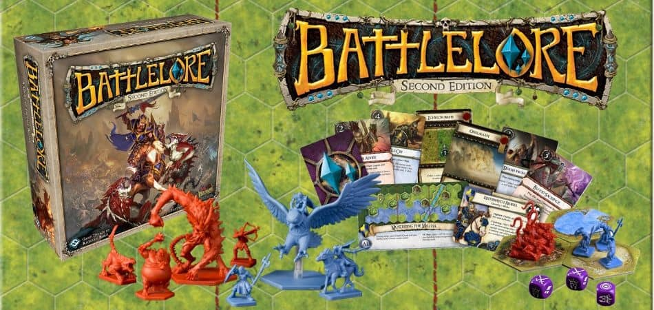 Battlelore Miniatures Board Game