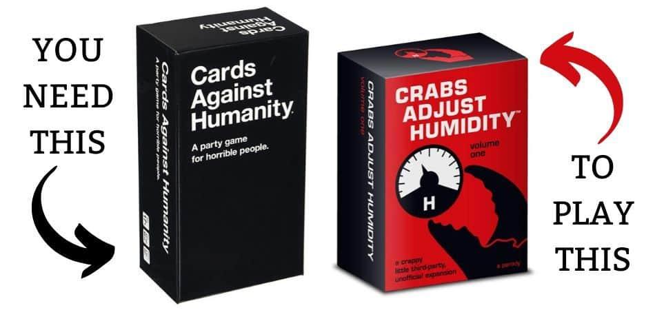 Crabs Adjust Humidity & CAH Card Games