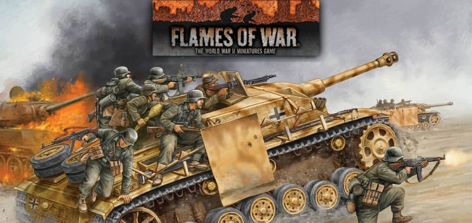 Flames of War: The WWII Miniatures Game