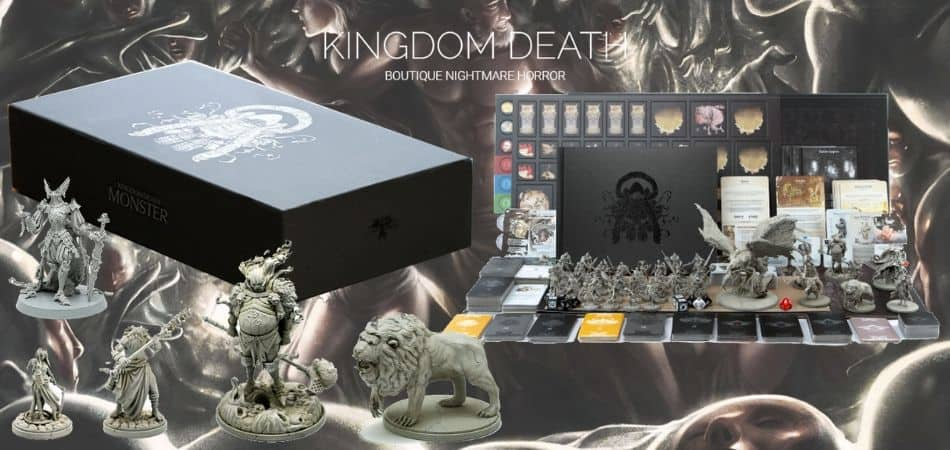 Kingdom Death Monster Miniatures Board Game
