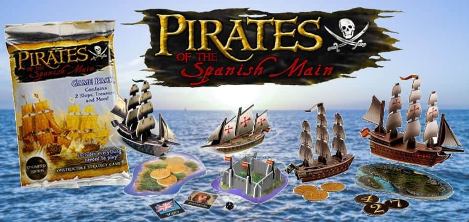 Pirates of the Spanish Main Miniatures Game