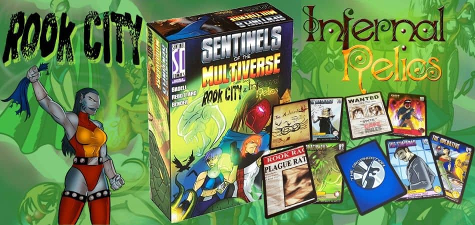 Sentinels of the Multiverse Rook City Infernal Relics Expansion