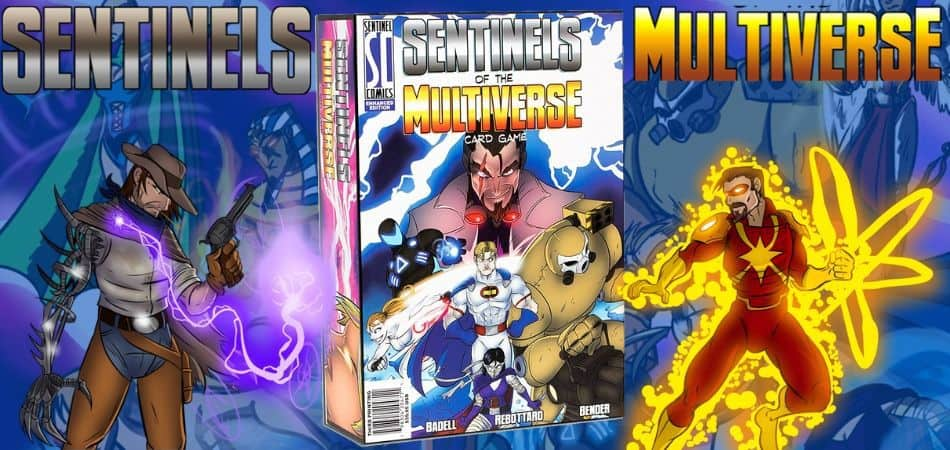 Sentinels of the Multiverse Card Game Box and Art