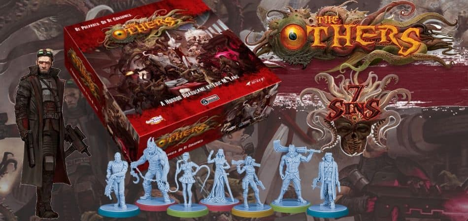 The Others: 7 Sins Miniatures Board Game