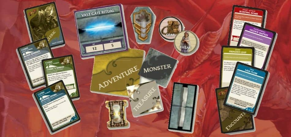 Wrath of Ashardalon Board Game Components