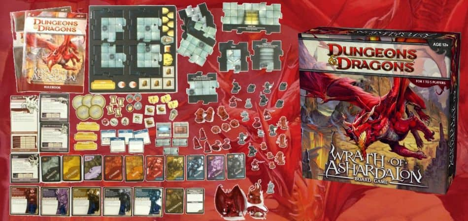Unboxing Wrath of Ashardalon Board Game