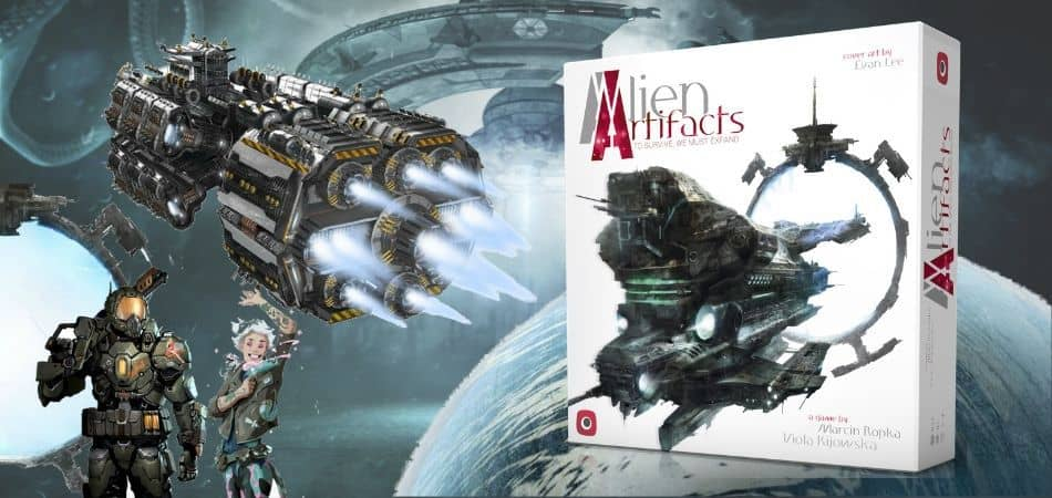 Alien Artifacts 4X Board Game