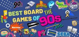 Best 90s Board Games Featured