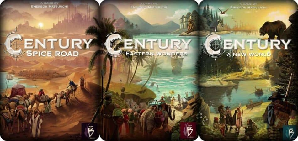 Century Trilogy Board Games