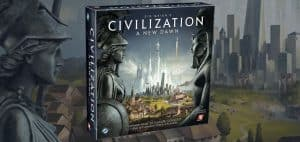 Civilization: A New Dawn 4X Board Game Box