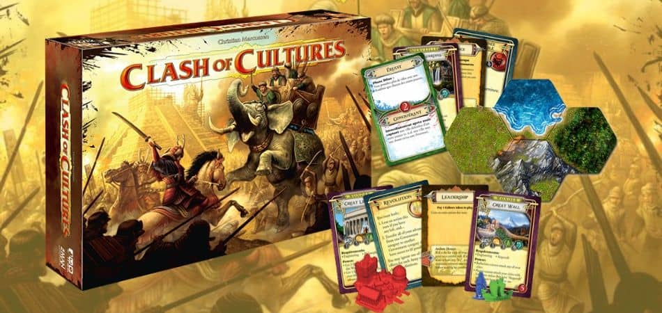 Clash of Cultures 4X Board Game