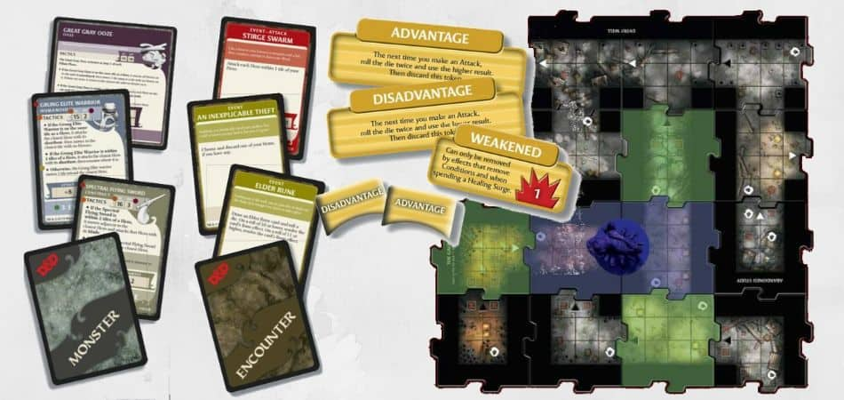 D&D Waterdeep: Dungeon of the Mad Mage Board Game