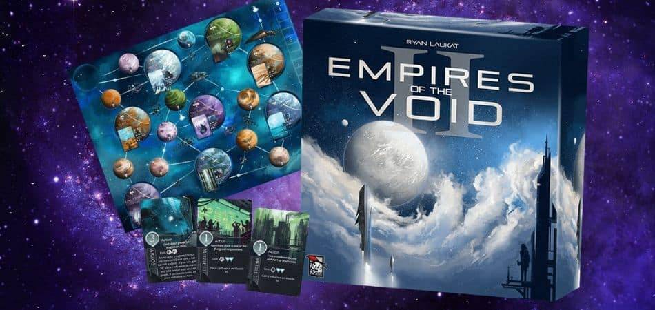 Empires of the Void II 4X Board Game