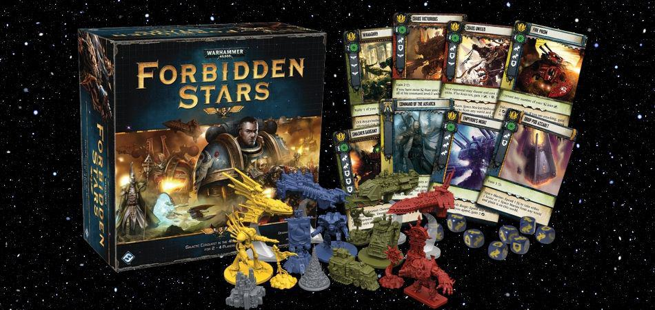 Forbidden Stars 4X Board Game
