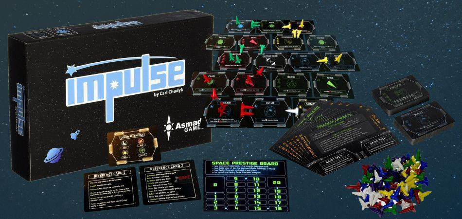 Impulse 4X Board Game