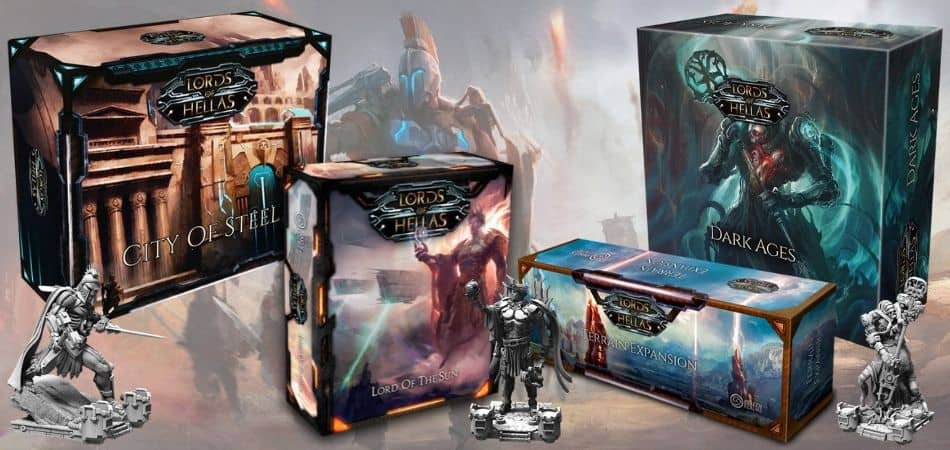 Lords of Hellas Board Game Expansions