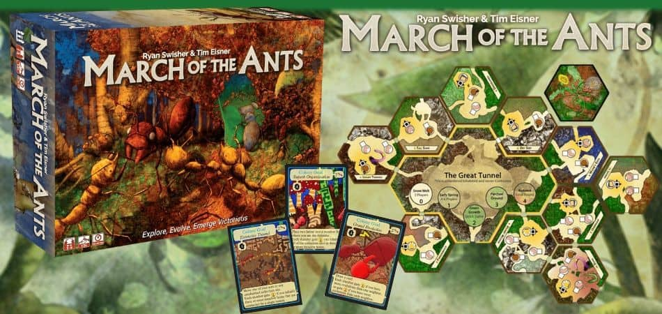 March of the Ants 4X Board Game