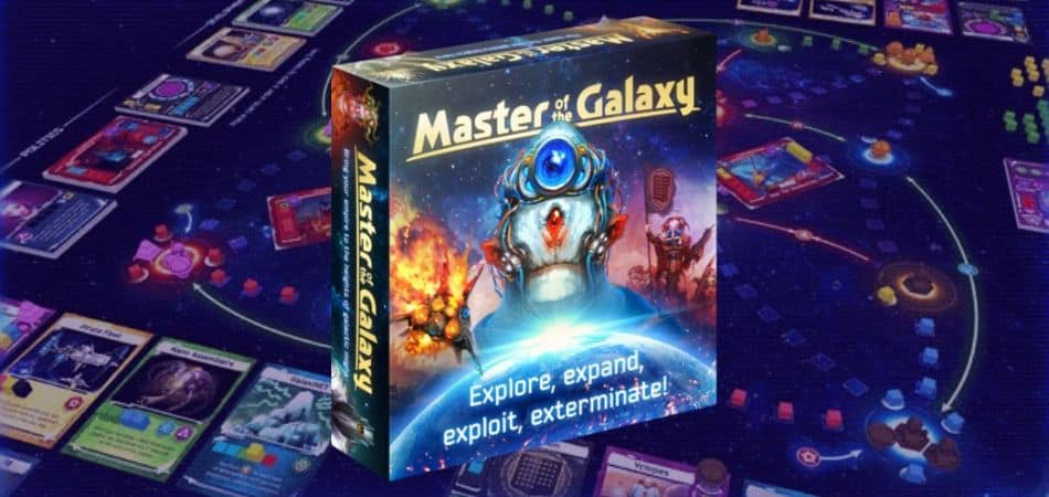 Master of the Galaxy 4X Board Game
