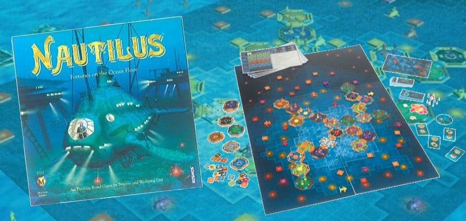 Nautilus: Fortunes on the Ocean Floor Board Game