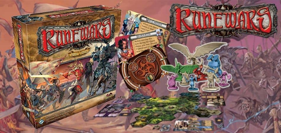 Runewars 4X Board Game