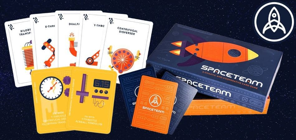 Spaceteam Sci-Fi Card Game
