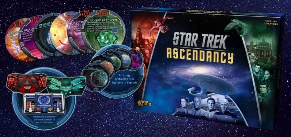 Star Trek: Ascendancy 4X Board Game