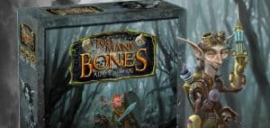 Too Many Bones: A Dice Builder RPG Board Game Box