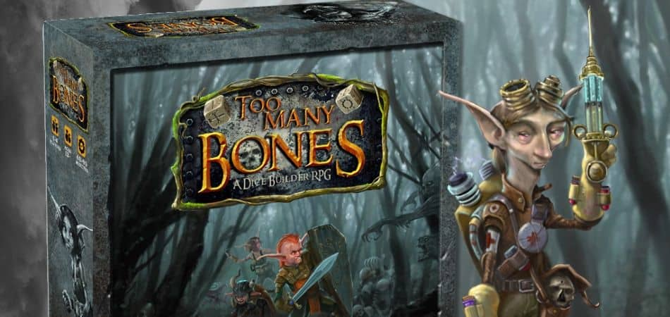Too Many Bones: A Dice Builder RPG Board Game