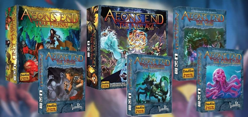 Aeon's End Board Game Expansions