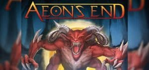 Aeron's End Board Game Logo and Art