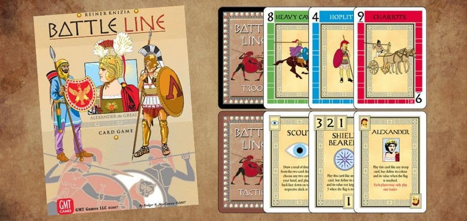 Battle Line Board Game