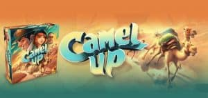 Camel Up Board Game Box and Logo