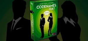 Codenames Duet Card Game Box and Art