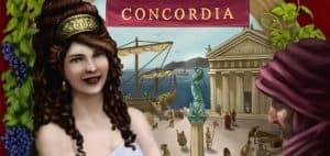 Concordia Board Game Art