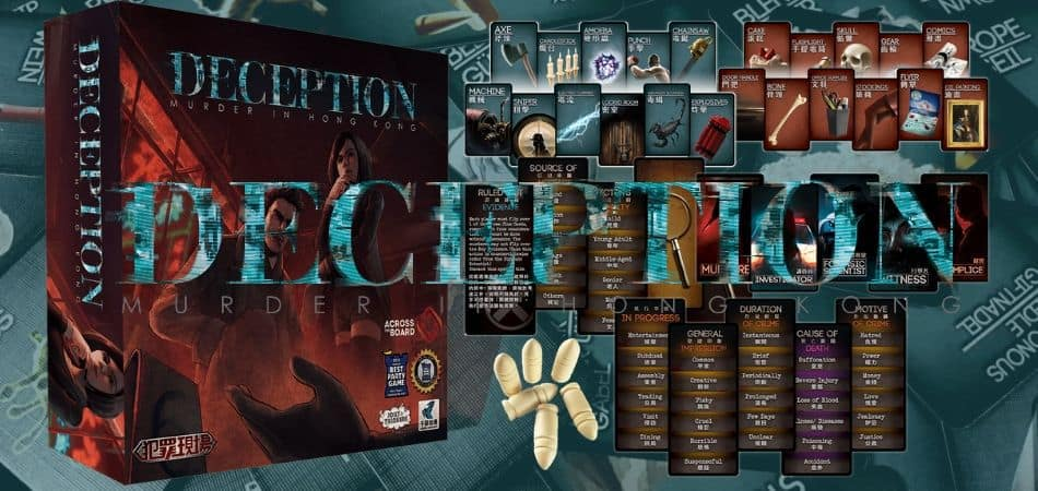 Deception Murder Hong Kong Board Game