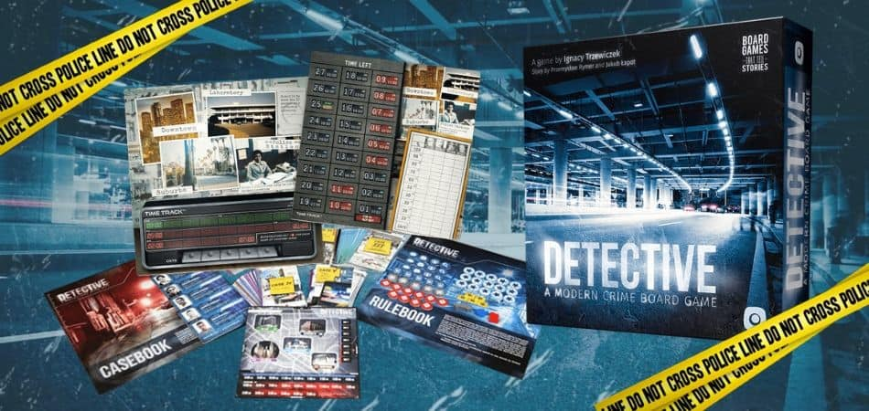 Detective Modern Crime Board Game