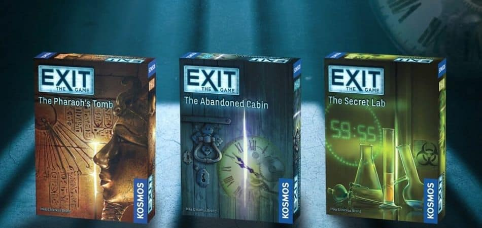 Exit the Game Board Game
